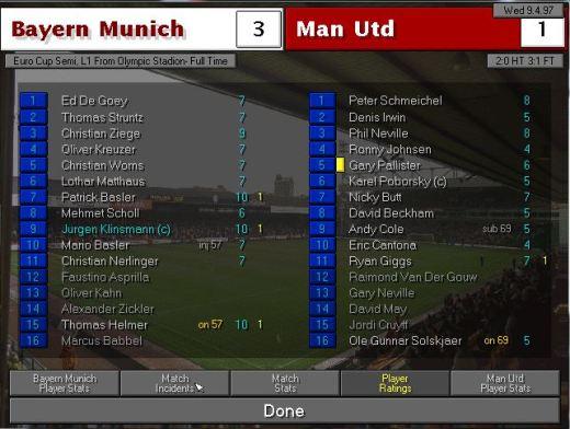 Bayern 1st leg